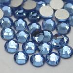 Light Blue -- Glass Rhinestone -- 1440 pcs / Pack Flatback Round High Quality --- lovekitty