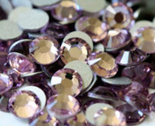 Light Amethyst  --- SS6 144 pcs ---  Crystal Flatback Rhinestone #2028  ---  lovekitty