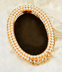 1 pc Gold Tone Mirror Bling Bling Decoden Piece -- by lovekitty