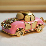 Car A1009 --- Swarovski Rhienstone Key Chain High Quality Great Gift Idea  ---  by lovekitty