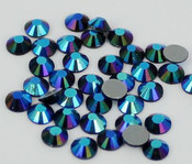 AB Black -- Hotfix Glass Crystal Rhinestone -- 1440 pcs / Pack Flatback Round High Quality Compare to SWAROVSKI