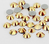 Aurum  -- Hotfix Glass Crystal Rhinestone -- 1440 pcs / Pack Flatback Round High Quality Compare to SWAROVSKI