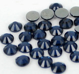 Ink Blue -- Hotfix Glass Crystal Rhinestone -- 1440 pcs / Pack Flatback Round High Quality Compare to SWAROVSKI