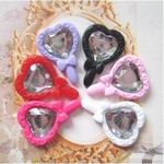 6 pcs Cute Japanese  Kawaii Flat  Back Resin Cabochons --- by lovekitty