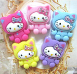 5 pc Cute Japanese Kawaii Flat Back Resin Cabochons  -- lovekittybling
