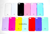 #1  Clear --- Iphone 5 Back Case  --- www.lovekittybling.com