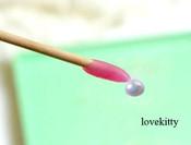 1 pc Pearl Cabochon & Rhinestone picker Jelly stick -- by lovekitty