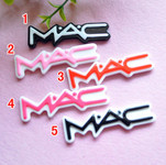 5 pieces Flat Back Resin Cabochons ---   by lovekitty