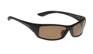 Ugly Fish TR-90 Polarised Sunglasses P6499 Matt Black Frame Brown Lens