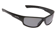 Ugly Fish Triacetate(TAC) Polarised Sunglasses PT9400 Matt Black TR90 Frame Smoke Lens