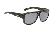 Ugly Fish Polarised P506 Over Sunglasses Matt Black TR-90 Frame Smoke Lens