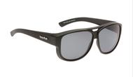Ugly Fish Polarised P506 Over Sunglasses Matt Black TR-90 Frame Smoke Lens