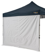 Oztrail Gazebo 3.0m Solid Wall with Centre Zip