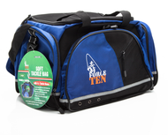 Force Ten Large Soft Fishing Tackle Bag + 4 tackle trays