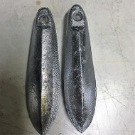4 x Lead 340grm Snapper fishing sinkers