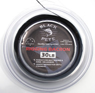 Black Pete 50lb x 50mtr  black rigging dacron ideal for game fishing rigs