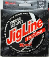 MOMOI 100% Dyneema TAKUMI JIGLINE 42.7lb x 300mtr red pe braid fishing line
