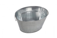 Oztrail Galvanised Oval Party Tub 33L