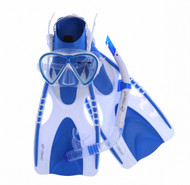 Oztrail Adults 3pc Snorkelling Set