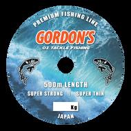 Gordons Bait and Tackle Mono Premium Fishing Line x 500mtr spools