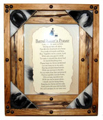 Pine Framed Barrel Racers Prayer