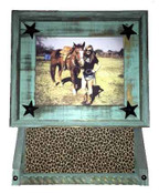 8x10 Picture Frame and two Buckle Shelf