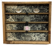 Cowhide Buckle Display