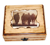 Real Cowgirls Handmade Jewelry Box - Other Pics Available