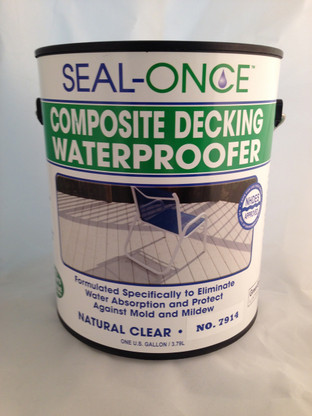 Seal-Once Non-Toxic Composite Decking Waterproofer