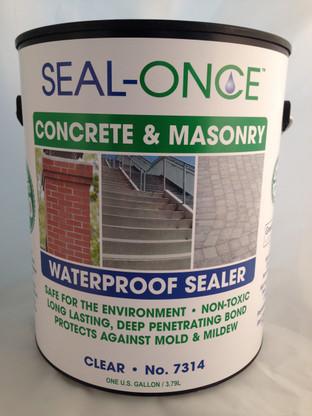 Seal-Once Concrete & Masonry Waterproof Sealer