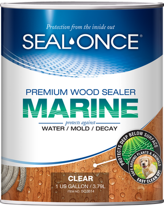 Seal-Once Marine Premium Wood Sealer