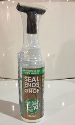 Seal Ends Once with Applicator
