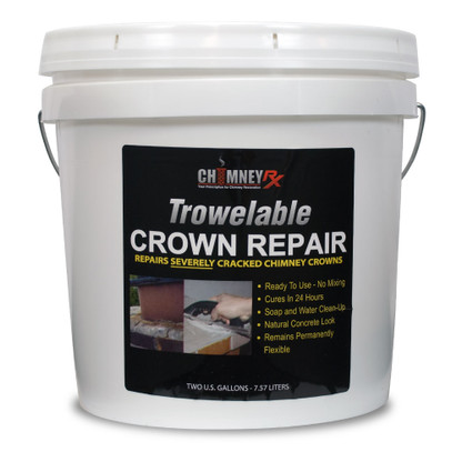 Chimney Rx Trowlabel Crown Repair