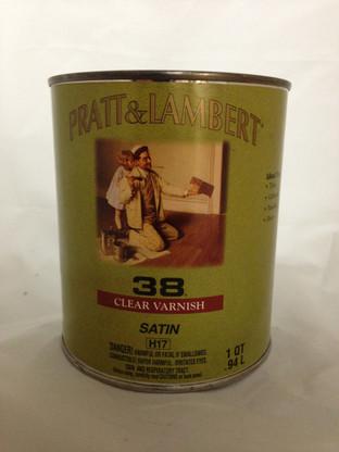 Pratt and Lambert 38 Varnish Satin