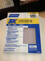Norton 3X Sandpaper