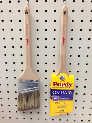 Purdy OxO Angular 2.5 Inch Brush