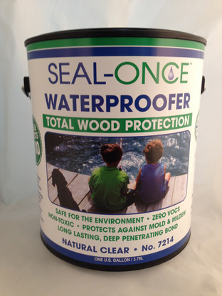 Seal-Once Waterproofer Total Wood Protecton