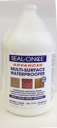 Seal-Once Multi-Surface Waterproofer Concentrate