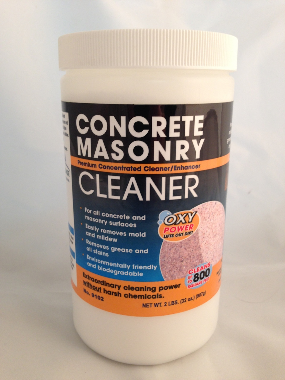Seal once concrete masonry cleaner us paint supply for Cement cleaning products