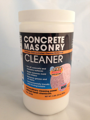 Seal once concrete masonry cleaner us paint supply for Spray on concrete cleaner