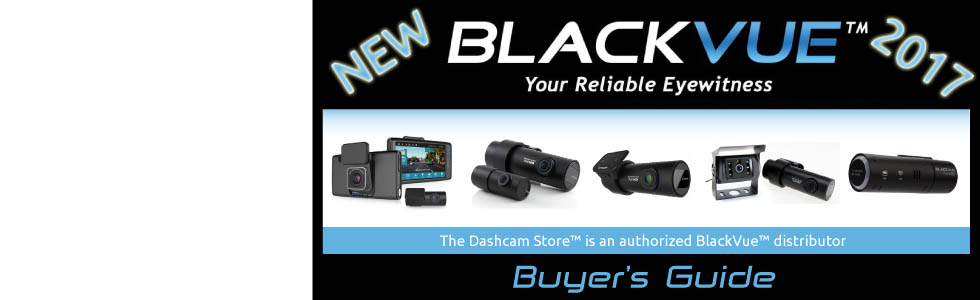 BlackVue Dashcam Buyer's Guide