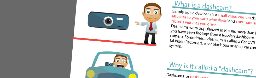Learn the dashcam basics with our infographic