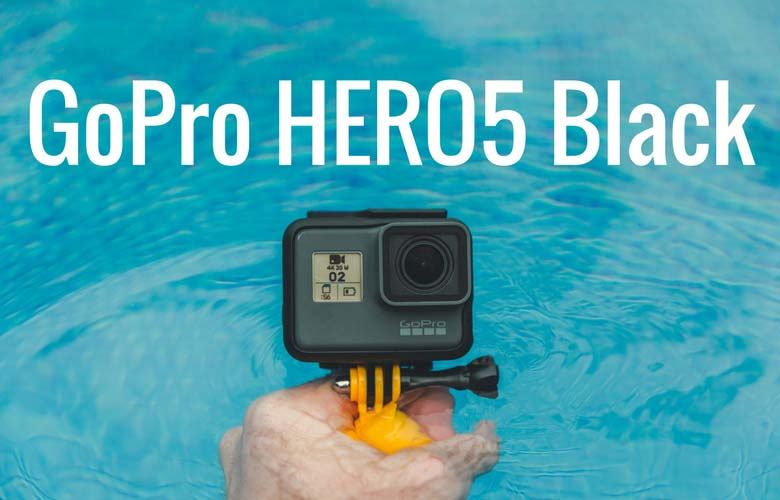 graphic: GoPro HERO5 Black in water