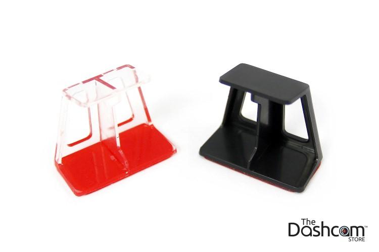 Custom offset bracket designed by The Dashcam Store in Austin, Texas