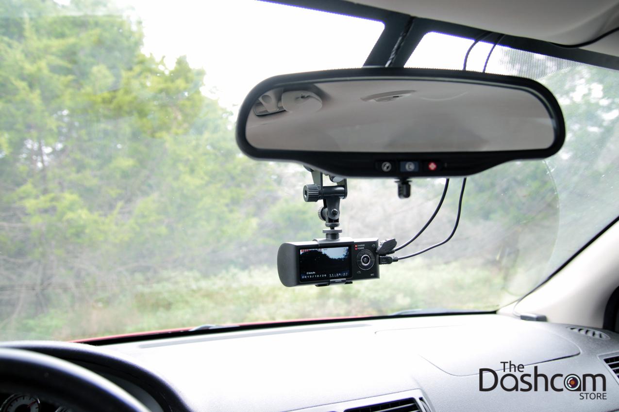 Dual Lens Dash Cam In Car Camera With Gps Amp G Sensor Dvr