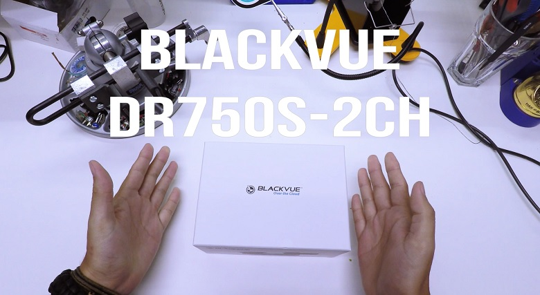 Unboxing the new BlackVue DR750S-2CH dashcam