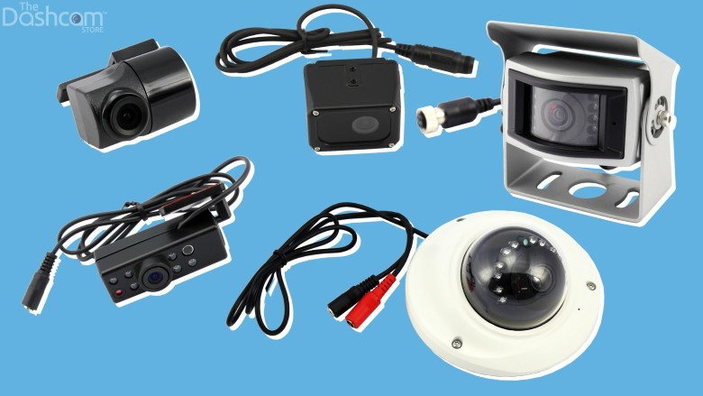 The EOS VT-300 can be packaged with one of five rear camera modules | The Dashcam Store Blog