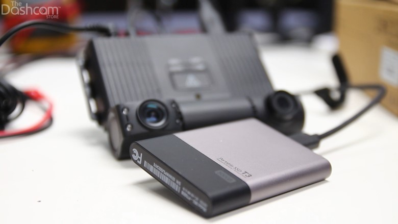the VT-300 can support up to 1TB of storage by using an external SSD | The Dashcam Store Blog
