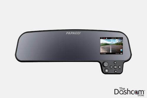 PAPAGO! GoSafe 260 Rear View Mirror Style Single Lens 1080p Stealth Dash Cam