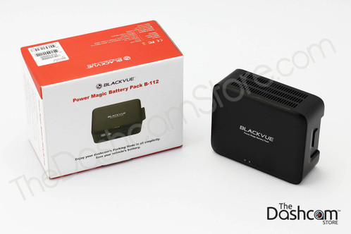 BlackVue B-112 Power Magic Battery Pack for Dash Cams and other accessories   Retail Packaging